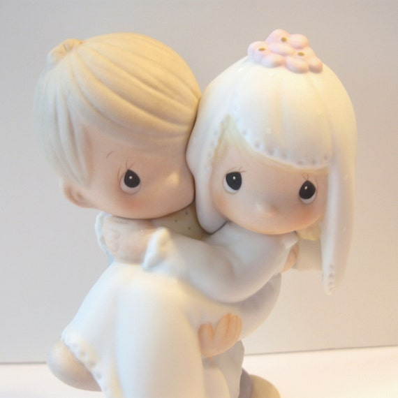 Precious Moments Wedding Figurine - Bless You Two - Bride and Groom