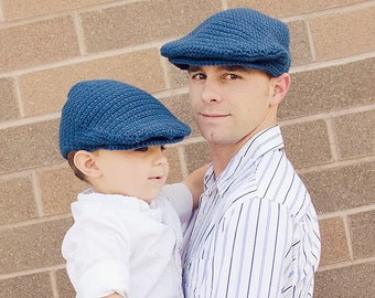 Seamus Scally Cap - for Adults (Crochet Pattern)
