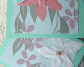 Set of 4 Cards in Sweat Pea