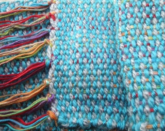 Handwoven 'Over the Rainbow' Scarf