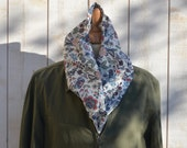 LAST ONE - Eco Friendly  French Cotton scarf summer spring  fashion