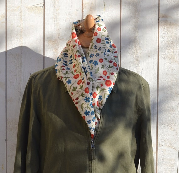 ECO FRIENDLY  French Cotton scarf Summer dream