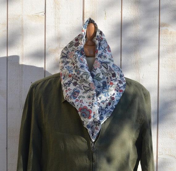 LAST ONE - Eco Friendly  French Cotton scarf summer spring  fashion