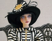 Which Witch  Dress and Hat - SD13 -  BJD