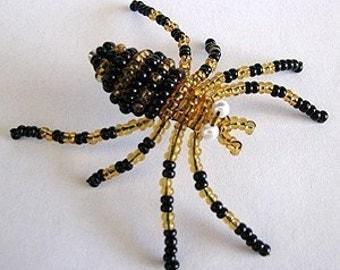 3-D Beaded Spider - Tutorial
