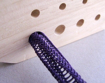 Viking Knit Draw Plate with Wooden Dowel with Instruction