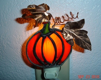 Harvest Pumpkin Night Light