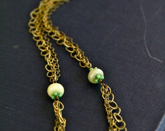 Vintage Inspired Layered Necklace
