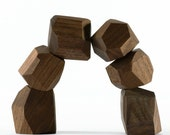 zenblocks (walnut desk toy decoration)
