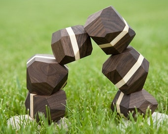zenblocks (striped walnut)