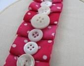 Shabby chic pink ruffles