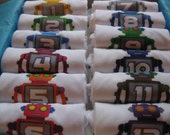 Roboto Monthiversaries - Set of 12 Onesies