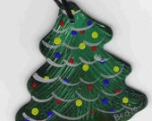 Christmas Tree wooden ornament