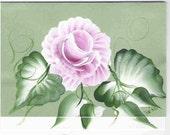 Blank Notecard-Blooming Rose