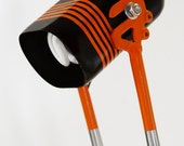 Bike Hardtail Lamp in Orange