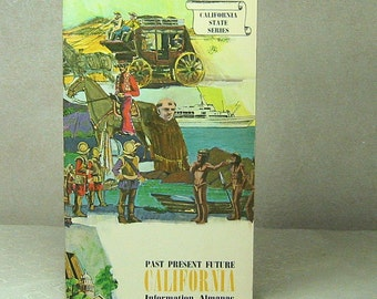Vintage Book California Reference Book