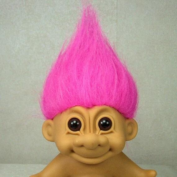 Vintage Troll Doll Russ