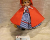 NEW LOWER PRICE - Madame Alexander Little Red Riding Hood Nbr 482 doll