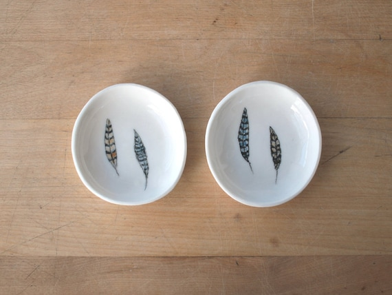 small salt and or pepper bowl. a pair. no6