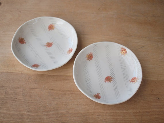 SALE a pair of small plates