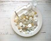 Bottle Of  Vintage Buttons