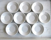 Ten Vintage Ironstone Bowls