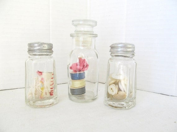 Three Little Vintage Shakers