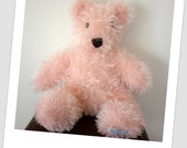 MooBeeTeds - Large Pink Fluffy Teddy - Imaginative Play