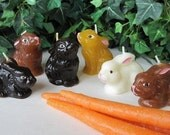 BUNNY Candles (set of 2)