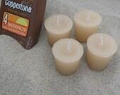 COPPERTONE (votives or 4oz soy jar candle)