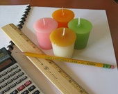 TEACHER SAMPLER (set of 4 votive candles)