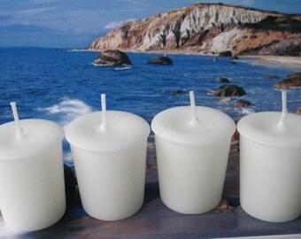 OCEAN MIST (4 votives or 4-oz soy jar candle)