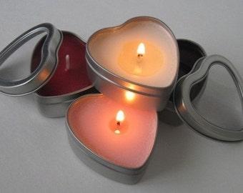 2-oz Heart Travel Tins (set of 4)