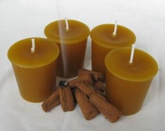 NAG CHAMPA INCENSE (4 votives or 4-oz soy jar candle)