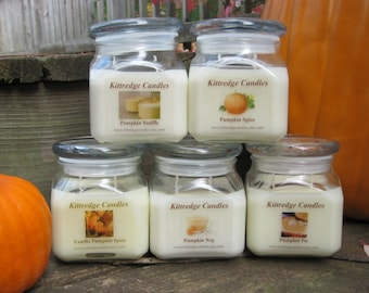 PUMPKIN LOVERS COLLECTION - 10oz Soy Jar Candle (15% discount)