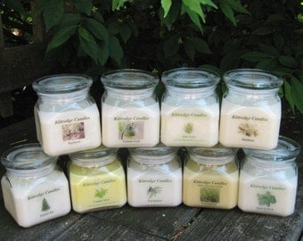 BOTANICAL COLLECTION - 10oz Soy Jar Candle (15% discount)