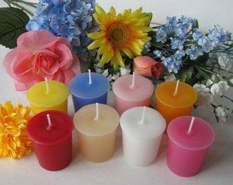 FLOWER SAMPLER (set of 4 votive candles)