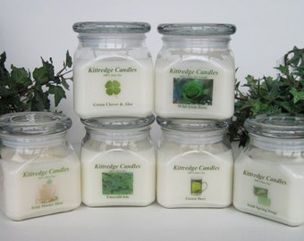 IRISH COLLECTION - One 10-oz Soy Jar Candle