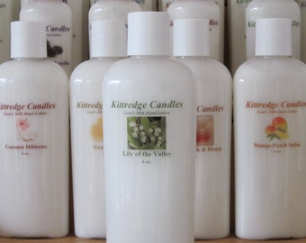 Natural Goat's Milk Lotion (6 oz) - LILY Of THE VALLEY