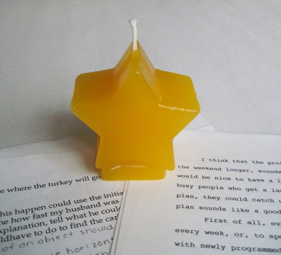 GOLD STAR candle
