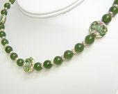 SALE Jade Necklace