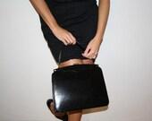 black vintage bag