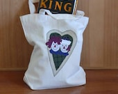 Raggedy Canvas Bag
