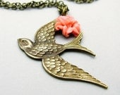 One Swallow Necklace