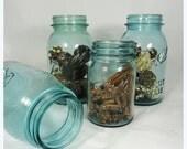 RESERVED for CARLY - Vintage Mason Jars . Ball Mason Jars . Ball Perfect Mason