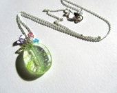 Titania's Bower Necklace - Glass and Swarovski