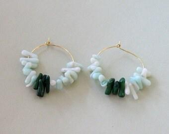 Endless Summer - Sea Earrings