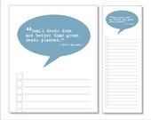 talk bubble notepads (deeds)