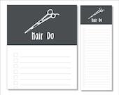 hair do notepads