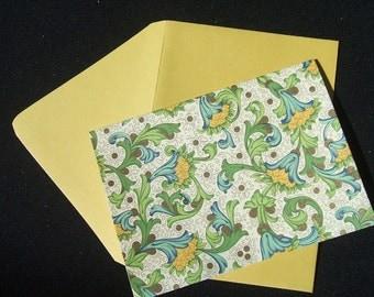 4 Bar Note Cards - Rossi Florentine - Citrus - Set of 10